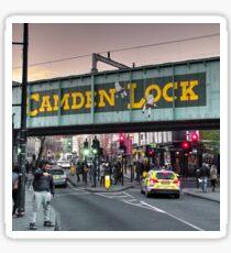 Camden Lock Railway bridge  Sticker