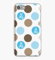 JW.org blue and brown dots iPhone Case/Skin