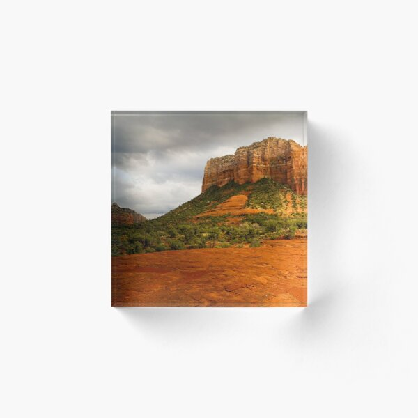 Courthouse Butte Acrylic Block