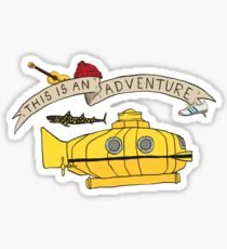 This Is An Adventure Sticker