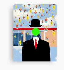 Magritte Canvas Print