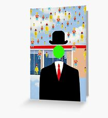 Magritte Greeting Card