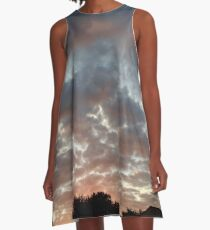 Painted Skies  A-Line Dress