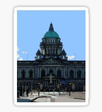 Belfast City Hall Sticker