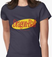 Seinfeld Ball -Alt w/Quote Womens Fitted T-Shirt