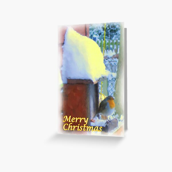 Christmas Painting 03 Greeting Card