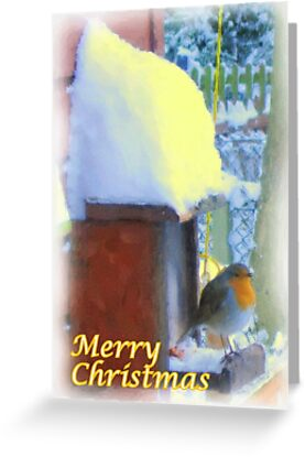 Christmas Painting 03 by Peter Barrett