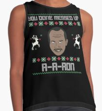 ya done messed up aaron ugly sweater contrast tank