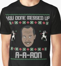 ya done messed up aaron ugly sweater graphic t shirt