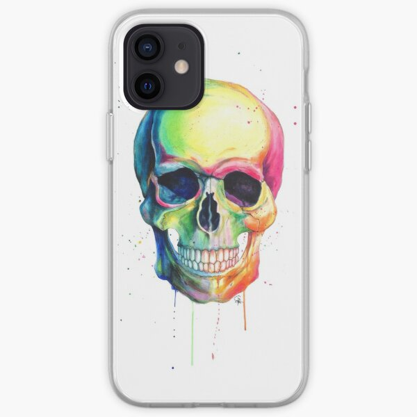 Pop Skull iPhone Soft Case