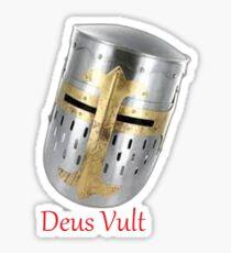 Deus Vult Sticker