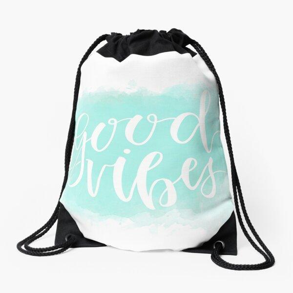Good Vibes 2.0 Drawstring Bag