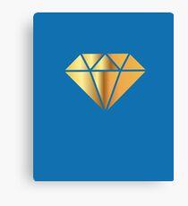 Cheap Gold Diamond Canvas Print
