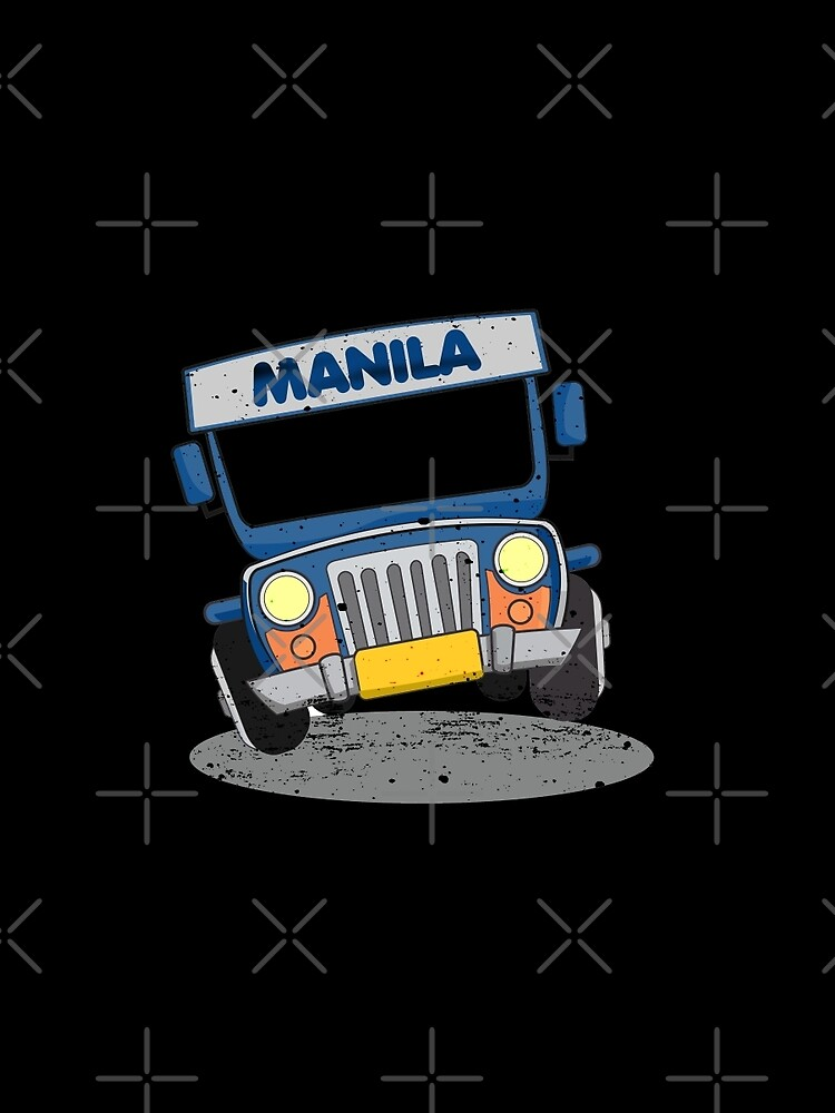 Philippine Jeepney Cartoon Graphic T Shirt By Busyokoy Redbubble
