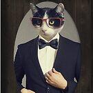 Tuxedo Cat in a Tuxedo by Becca C. Smith