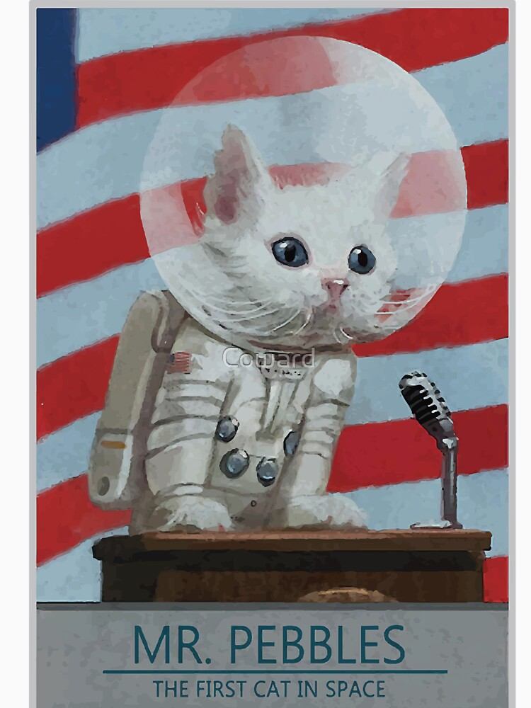 mr pebbles first cat in space poster food ideas