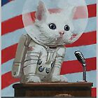 Mr. Pebbles The First Cat In Space by Coward