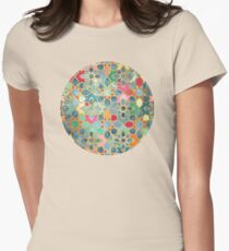 Gilt & Glory - Colorful Moroccan Mosaic Womens Fitted T-Shirt