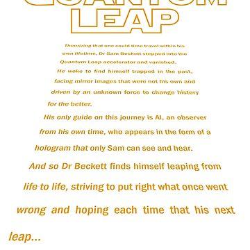Quantum Leap - Star Wars Crawl by AlphaRich