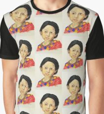 Guatemala Girl Graphic T-Shirt