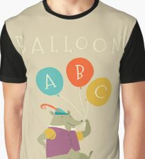 Balloon ABC Graphic T-Shirt
