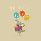 Balloon ABC by Tracy Sabin