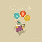Balloon ABC by Tracy Sabin