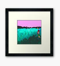 """Dripping Springs"" Framed Print"