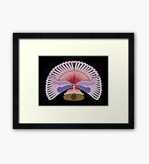 "Art Deco Design by Erte ""Phoenix Triumphant"" Framed Print"