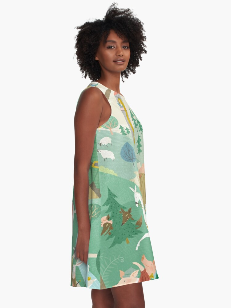 Alternate view of The Land of Enchantment A-Line Dress