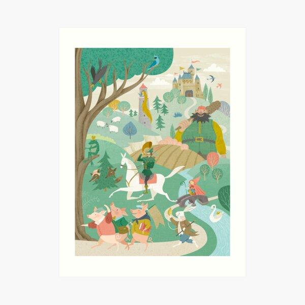 The Land of Enchantment Art Print