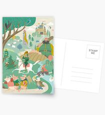The Land of Enchantment Postcards