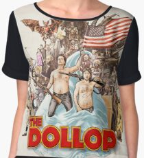 The Dollop (textless) Chiffon Top