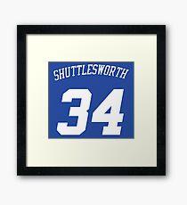 Allen Jesus Shuttlesworth  Framed Print