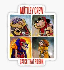 Muttley Crew Sticker