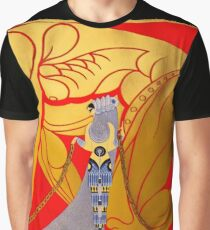 "Art Deco Design by Erte ""Sampson and Delilah"" Graphic T-Shirt"
