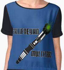 Dr Who - Gallifreyan MultiTool Women's Chiffon Top