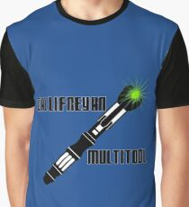 Dr Who - Gallifreyan MultiTool Graphic T-Shirt