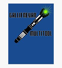 Dr Who - Gallifreyan MultiTool Photographic Print