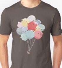 Camiseta unisex Animales del globo