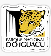 Iguazu National Park Sign, Brazil Sticker