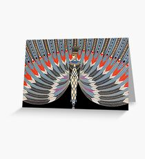 """Art Deco Design by Erte """"The Nile"""" Greeting Card"""