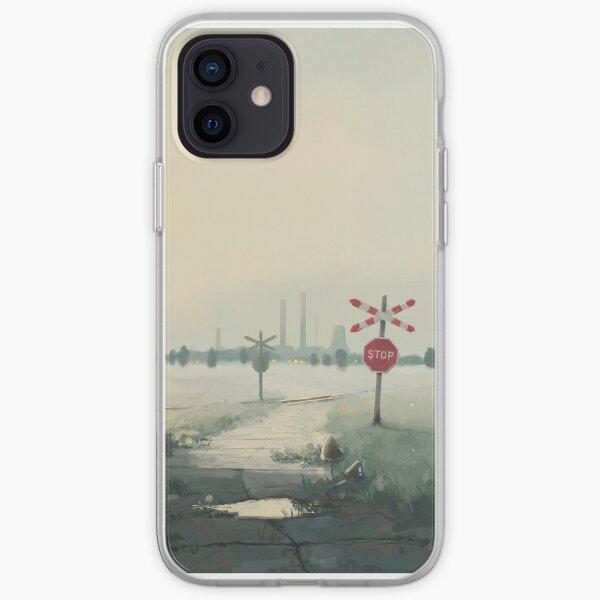 Świt Chemical Plant iPhone Soft Case
