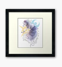 Shiny Alolan Ninetales Framed Print