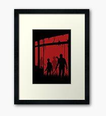 Last people Framed Print