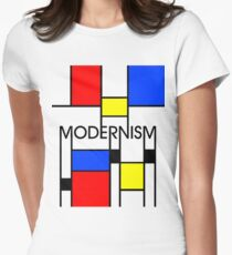 Modernism Women's Fitted T-Shirt