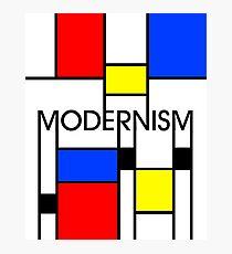 Modernism Photographic Print