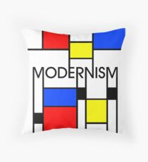 Modernism Throw Pillow