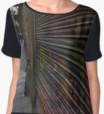 Alley Art Chiffon Top