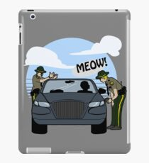 Do I look like a cat, boy? iPad Case/Skin